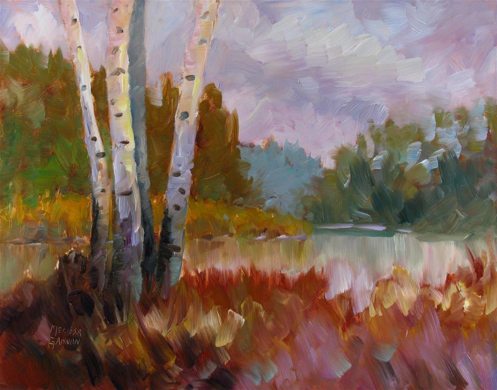 """""""Magical Light"""" original fine art by Melissa Gannon"""