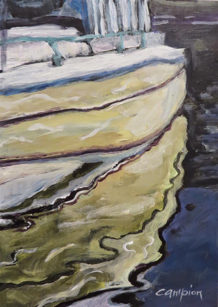 """594 Reflections"" original fine art by Diane Campion"