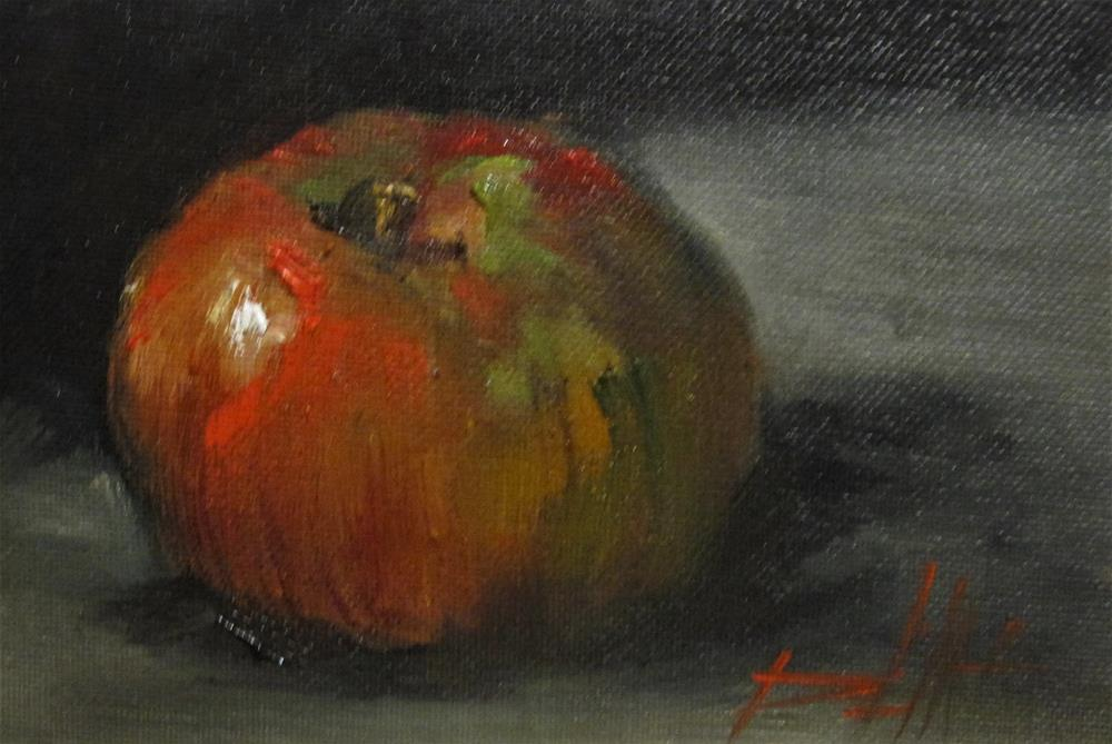 """100 Apples Series No.1"" original fine art by Delilah Smith"