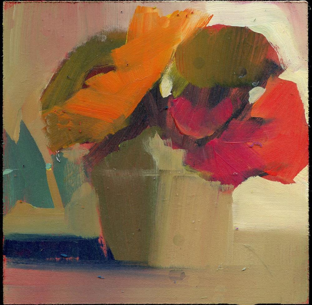 """1965 air bistro"" original fine art by Lisa Daria"