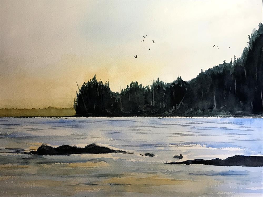 """Acadia National Park"" original fine art by Betty Argiros"