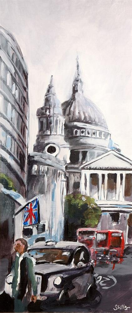 """2715 London City 1"" original fine art by Dietmar Stiller"