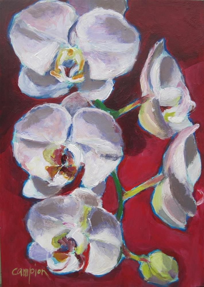 """Lasting Beauty"" original fine art by Diane Campion"