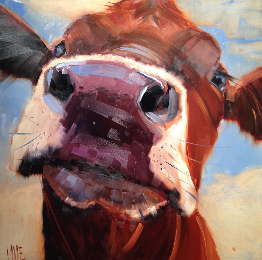 """#257 Bringing it"" original fine art by Patty Voje"