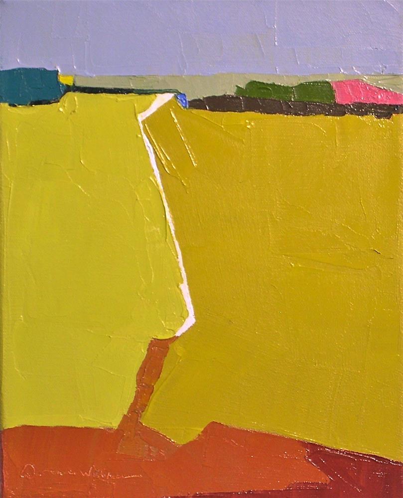 """Horizon III"" original fine art by Donna Walker"