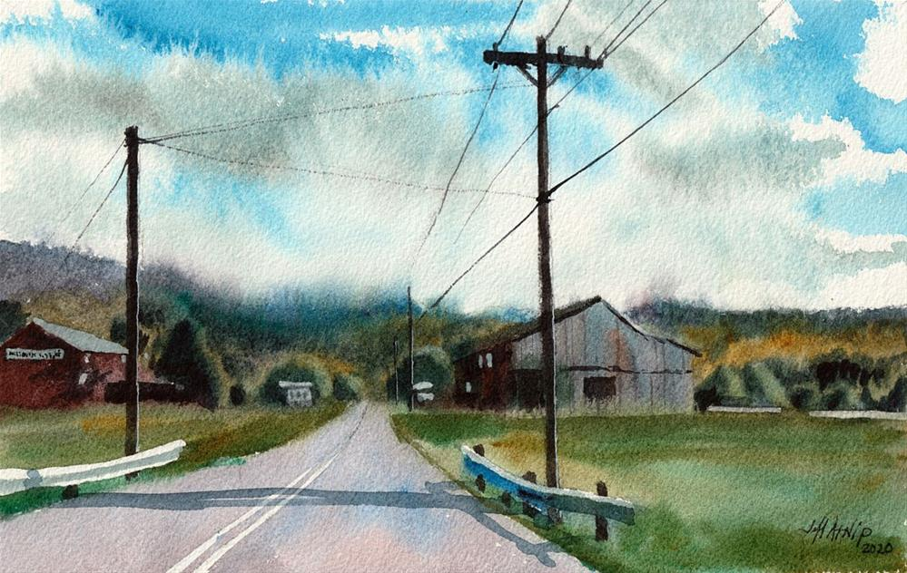 """Road To Wears Valley"" original fine art by Jeff Atnip"