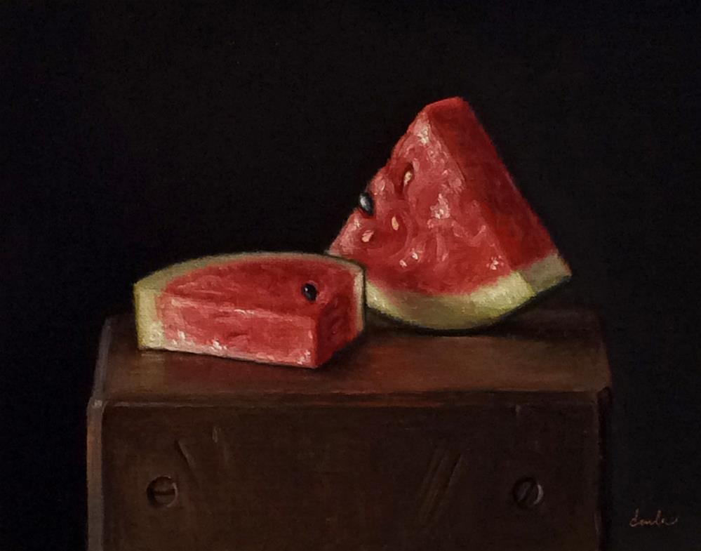 """Summertime"" original fine art by Darla McDowell"