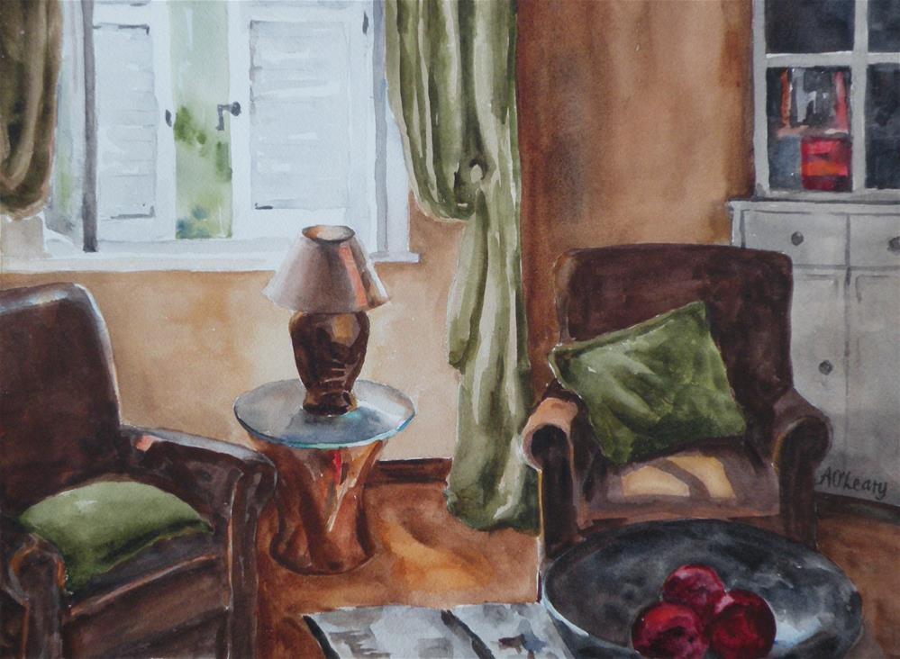 """Tuscan Light"" original fine art by Alice O'Leary"