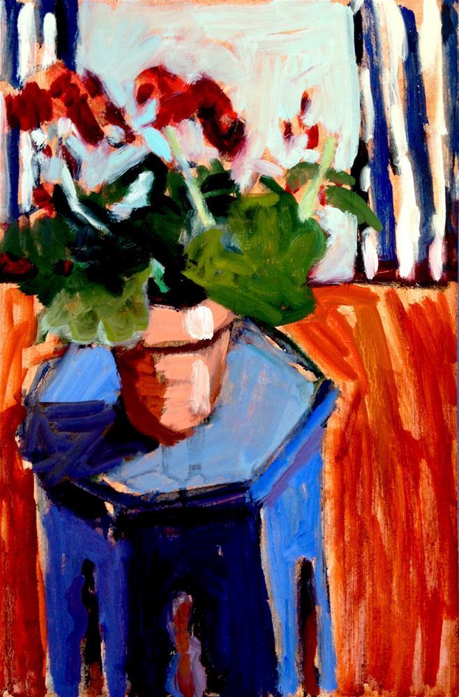 """Home Is Where I Wanna Be"" original fine art by Pamela Hoffmeister"