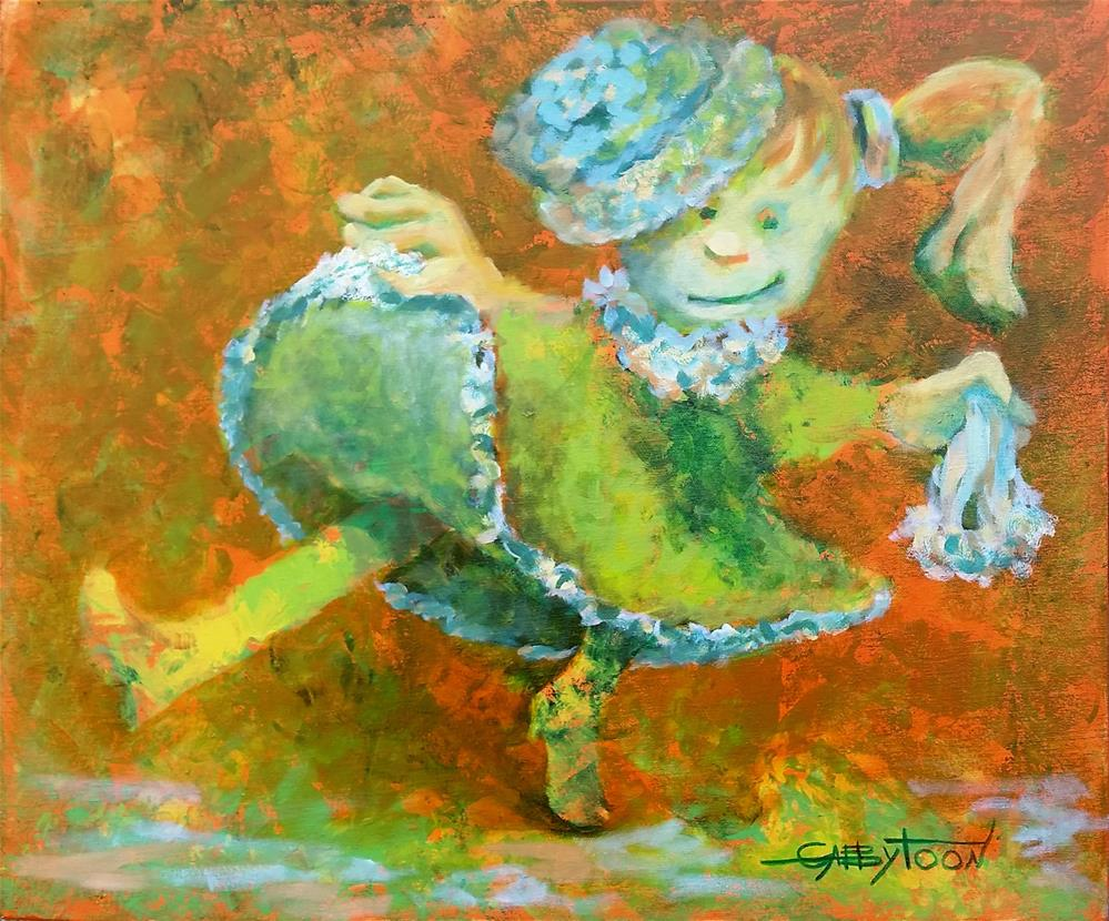 """Dance"" original fine art by Gabriella DeLamater"