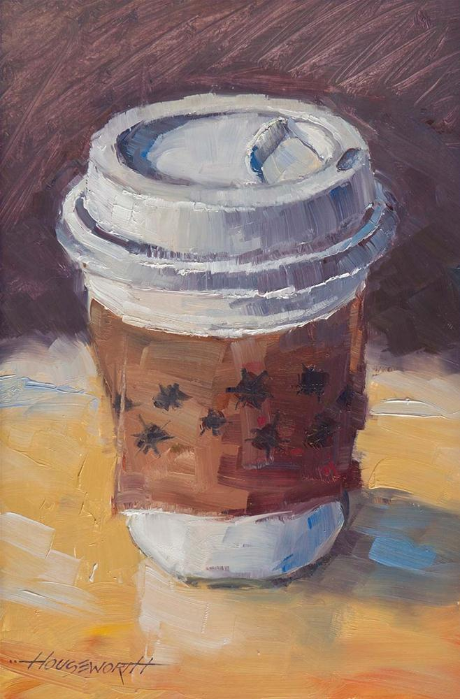 """""""Java To Go"""" original fine art by Terry Houseworth"""