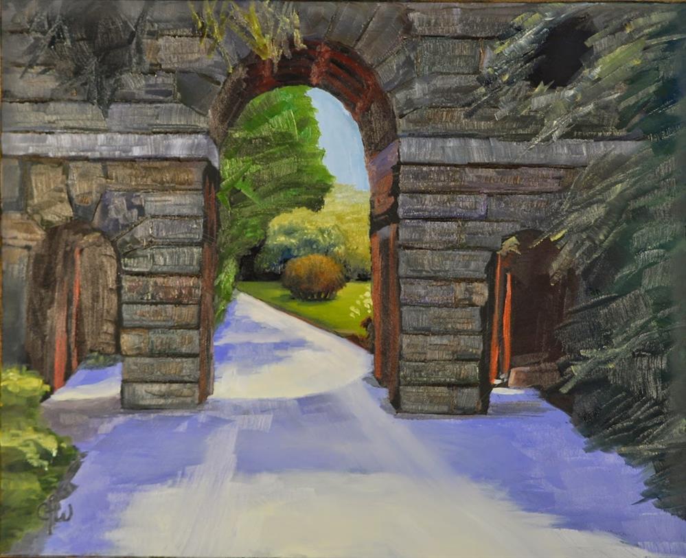 """Ruined Arch"" original fine art by Gary Westlake"