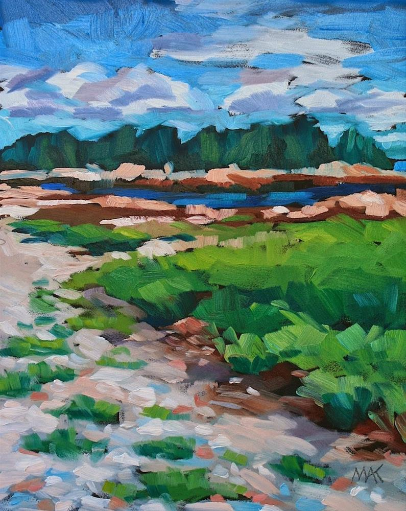 """""""In Acadia 2"""" original fine art by Mary Anne Cary"""