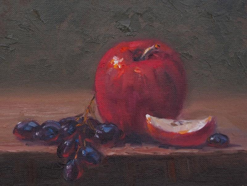 """Fruits of the Spirit"" original fine art by Bonnie Bowne"