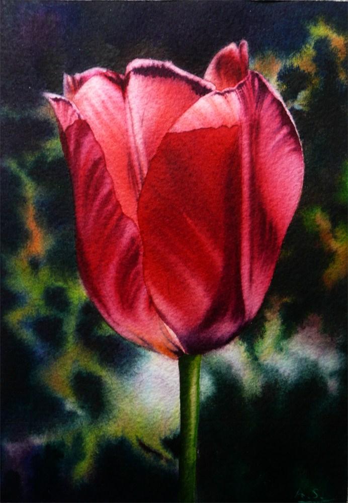 """A Blush of Spring"" original fine art by Arena Shawn"