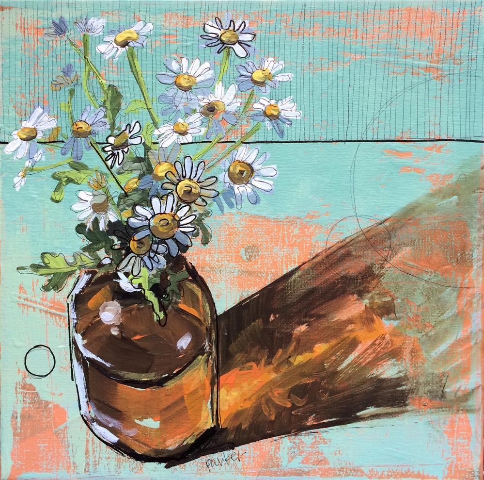"""Daisy Sketch"" original fine art by Teddi Parker"