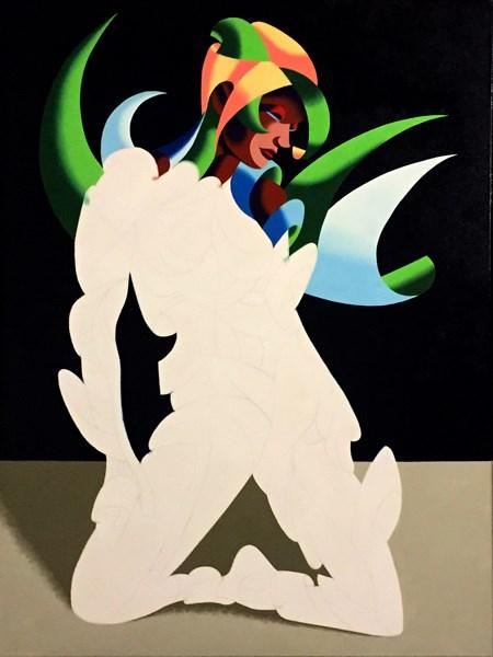 """Mark Adam Webster - Further progress on a New Painting - Adrina 3201"" original fine art by Mark Webster"