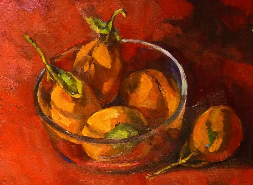 """Orchard Harvest#5"" original fine art by Katya Minkina"