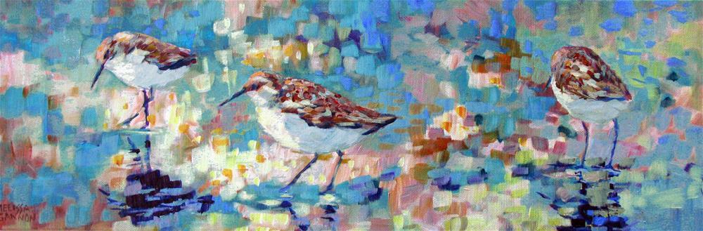 """Beachcombing "" original fine art by Melissa Gannon"