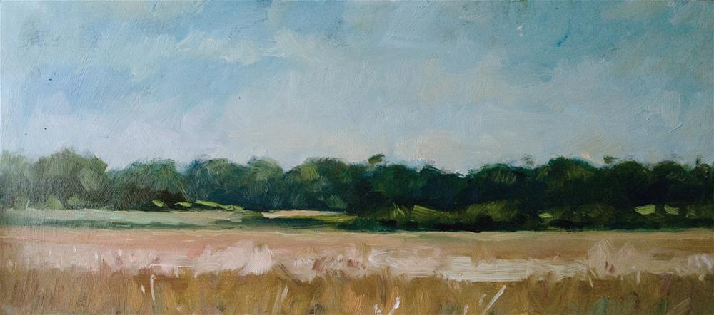 """Wheatfield"" original fine art by Andre Pallat"