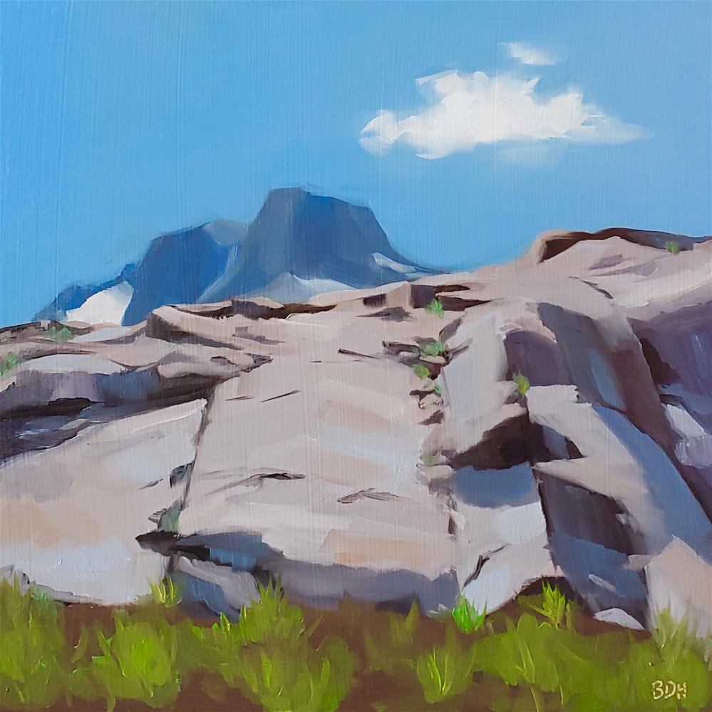 """This Rocks"" original fine art by Beth Hunt"