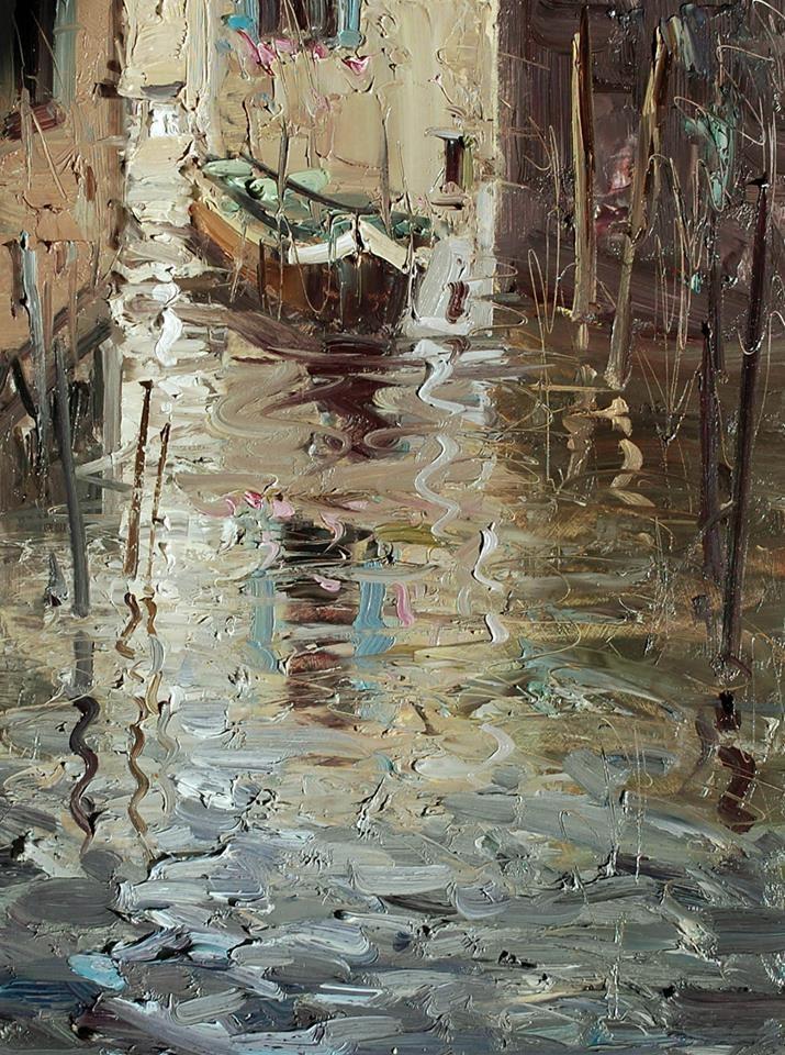 """Venice"" original fine art by Mostafa Keyhani"