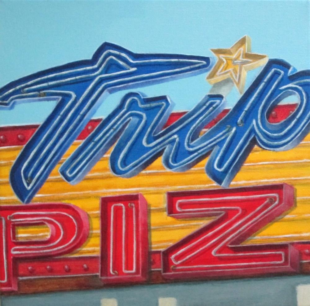 """Tripoli"" original fine art by Debbie Shirley"