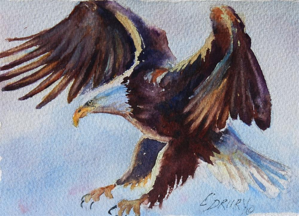 """The catch"" original fine art by Colleen Drury"