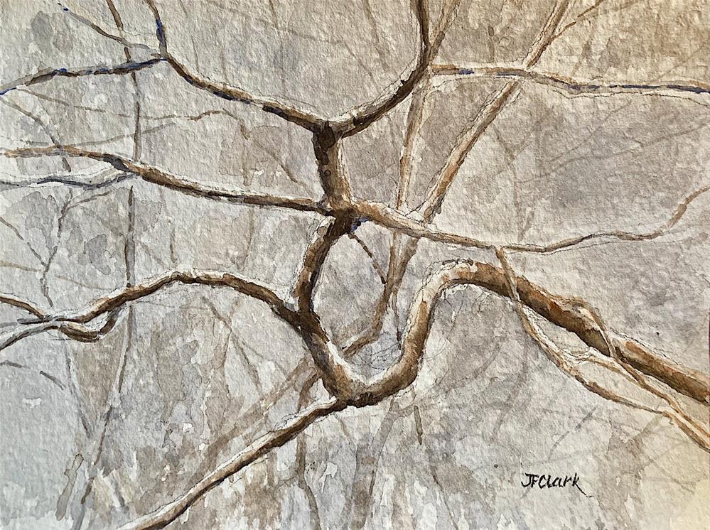 """Winter Branches"" original fine art by Judith Freeman Clark"