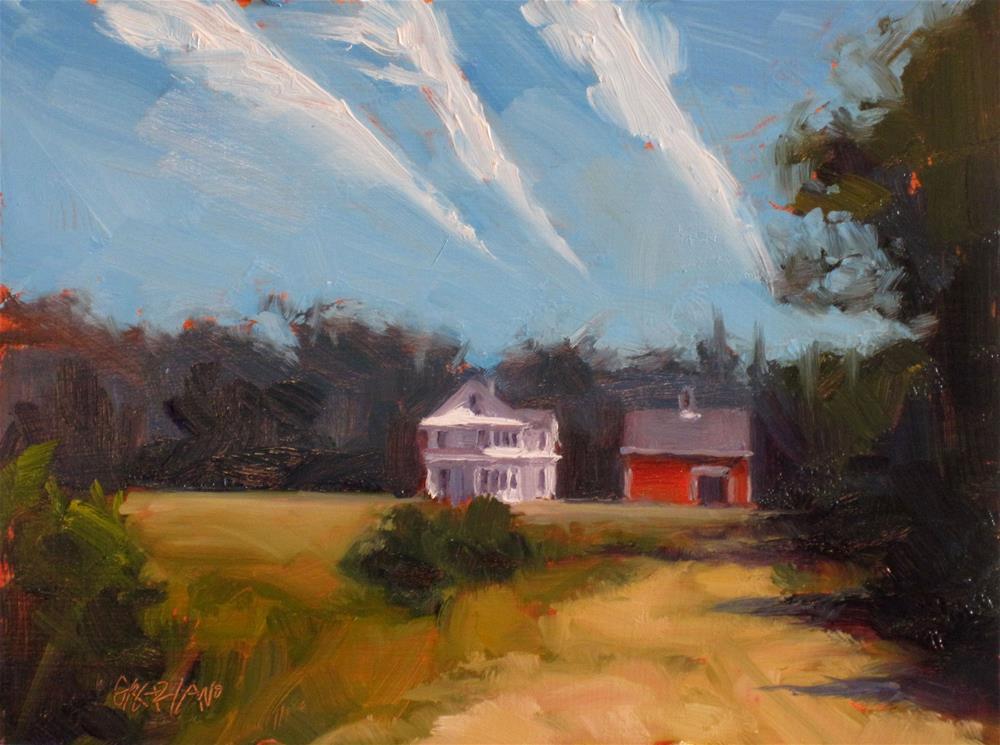 """""""vapor trails"""" original fine art by Dan Graziano"""