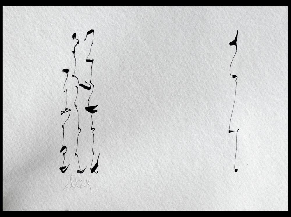 """SOMETHING POIGNANT lagrimoso"" original fine art by Craig Svare"