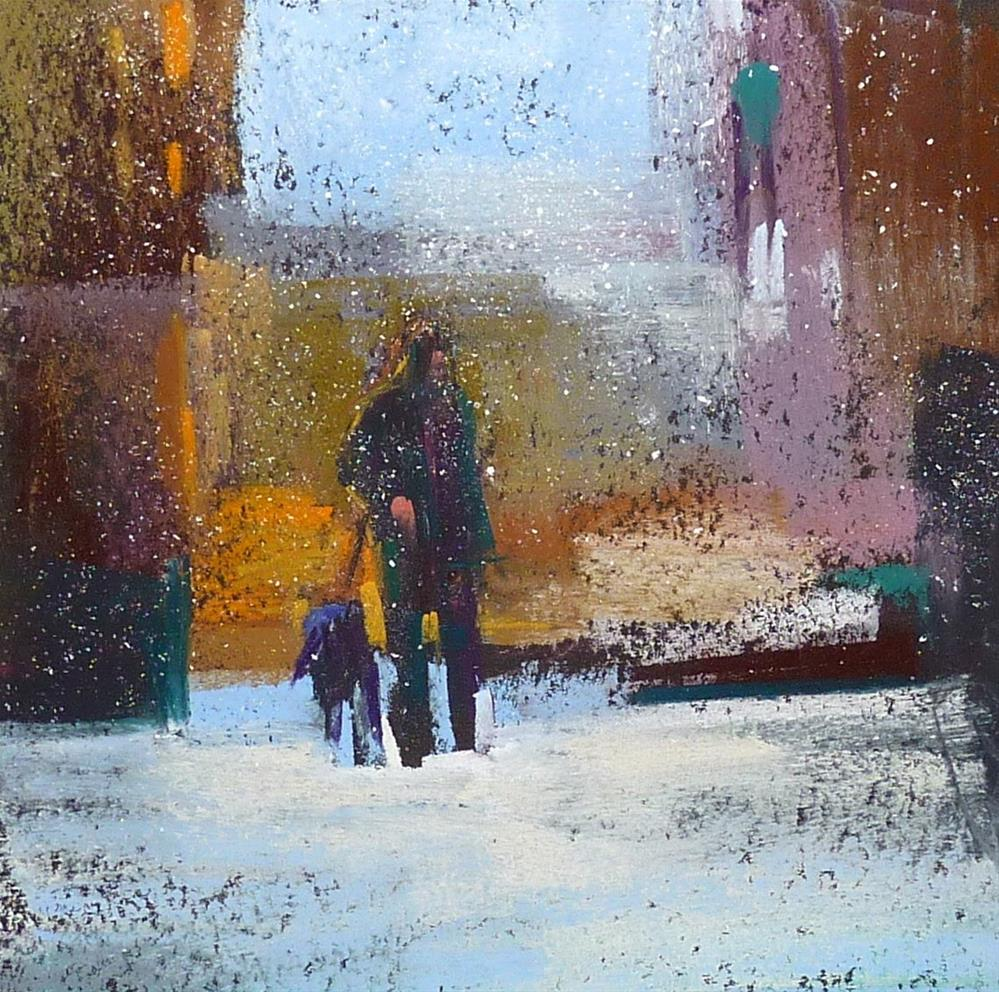 """""""From the Archives: Putting Figures in Landscapes"""" original fine art by Karen Margulis"""