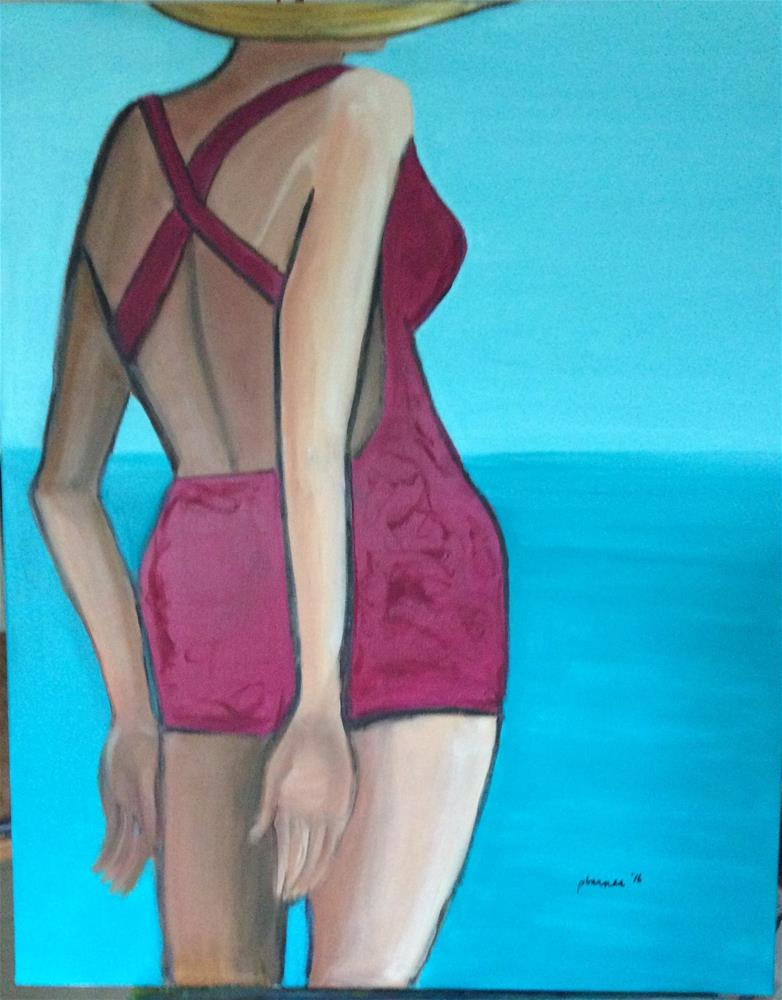 """Sail Away"" original fine art by Patty Barnes"