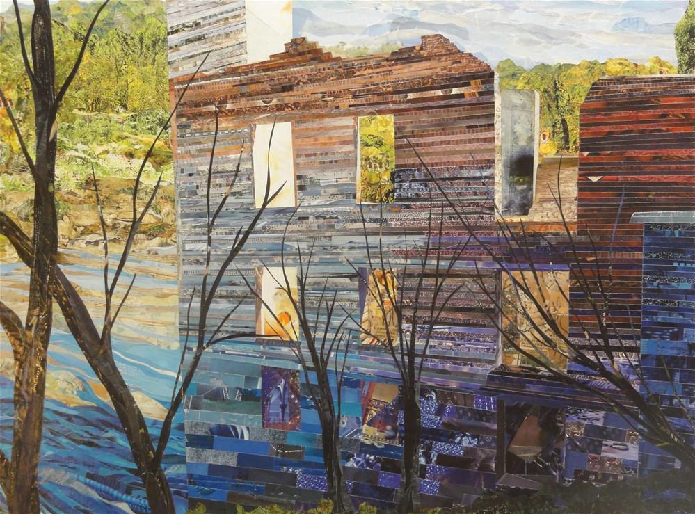 """Sweetwater"" original fine art by Cynthia Frigon"