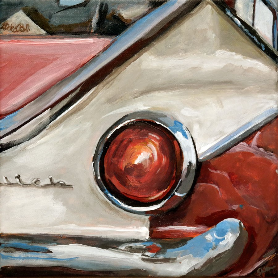 """1191 Buick"" original fine art by Dietmar Stiller"
