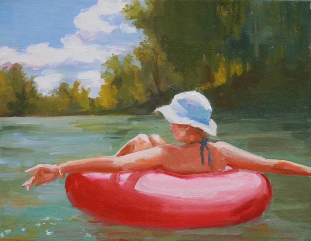 """time well spent"" original fine art by Carol Carmichael"