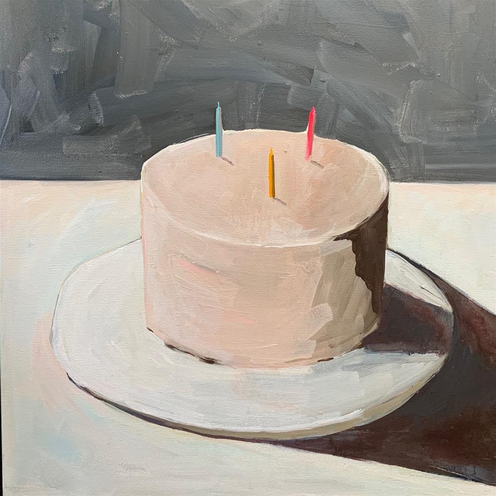 """730 You Taste Like Birthday"" original fine art by Jenny Doh"