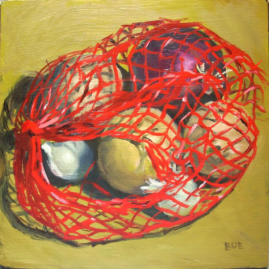 """""""Mixed Bag"""" original fine art by Karen Boe"""