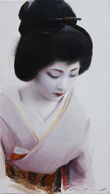"""""""Ichiteru"""" original fine art by Phil Couture"""