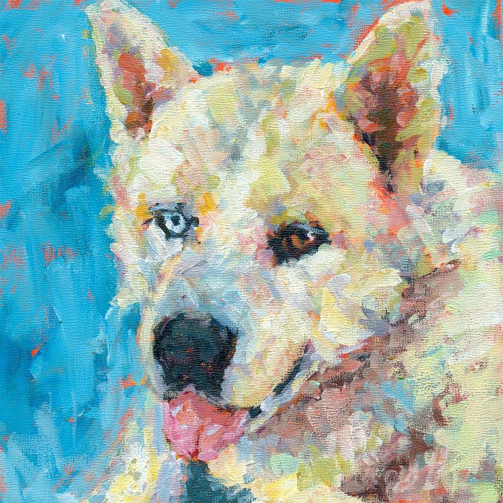 """Remembering Gix"" original fine art by Shelley Garries"