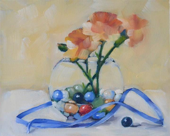 """Narrow Ribbon"" original fine art by Cheryl Wilson"
