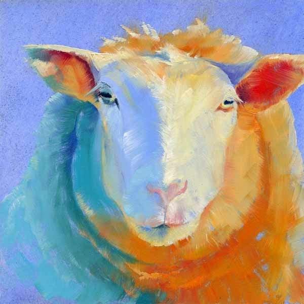 """Two Faced"" original fine art by Brenda Ferguson"
