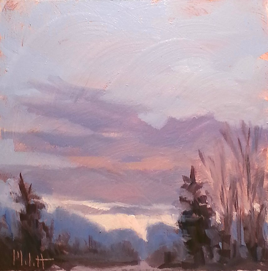 """Impressionism Contemporary Art Original Oil Painting Landscape"" original fine art by Heidi Malott"