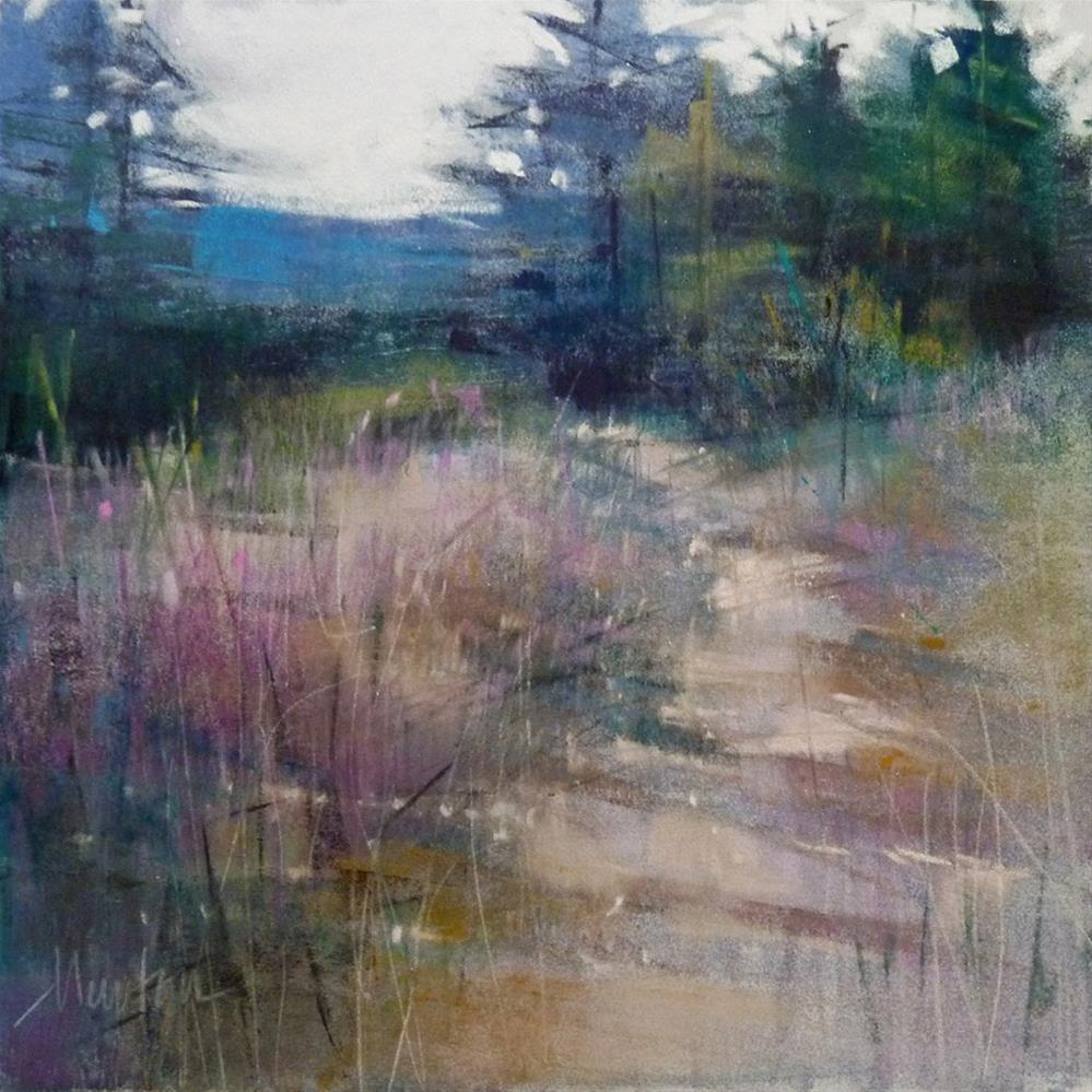 """Sky View Afternoon"" original fine art by Barbara Benedetti Newton"