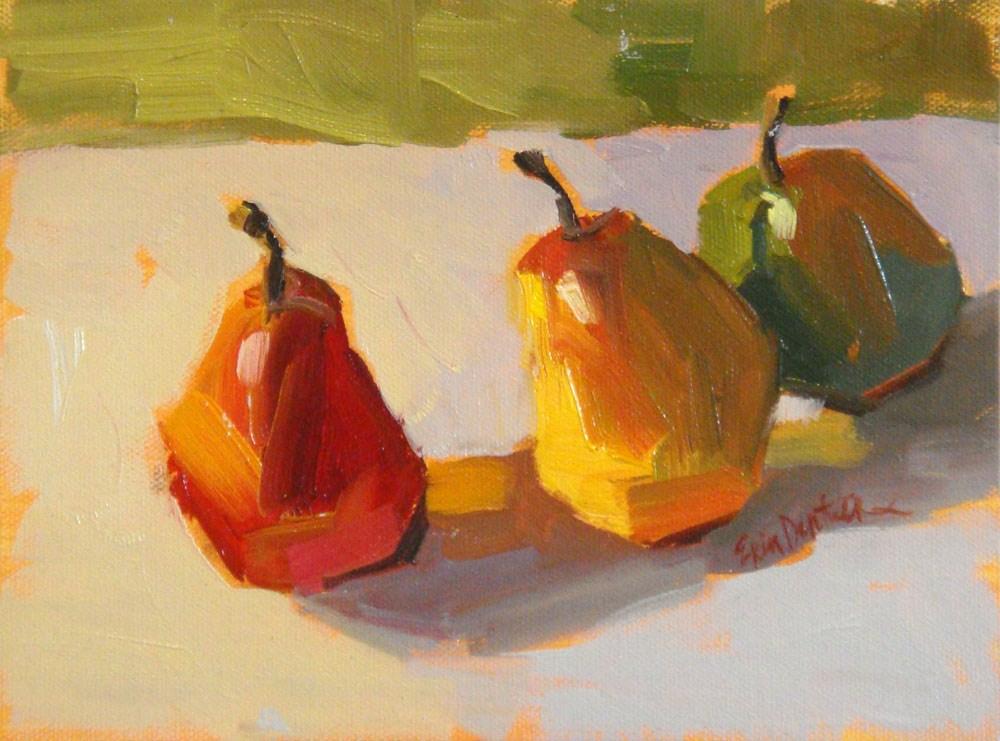"""""""Sweet and Sassy"""" original fine art by Erin Dertner"""