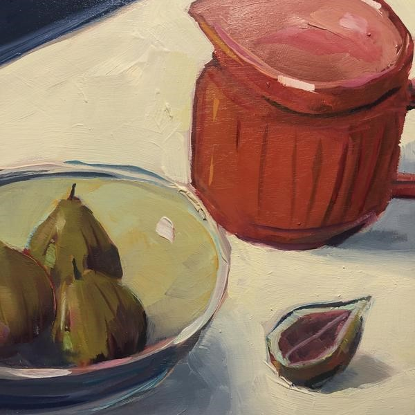 """1263: Just a Few Figs"" original fine art by Brian Miller"