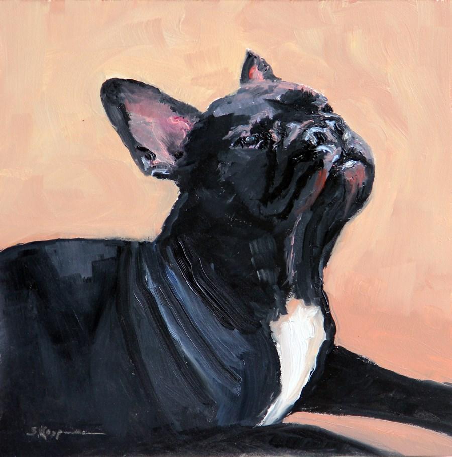 """Don't Hate Me 'Cause I'm Pretty"" original fine art by Shelley Koopmann"