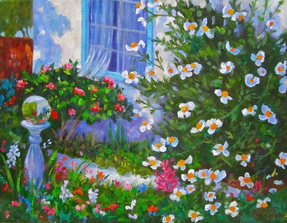 """Gardens Gone Wild!"" original fine art by Patricia Musgrave"