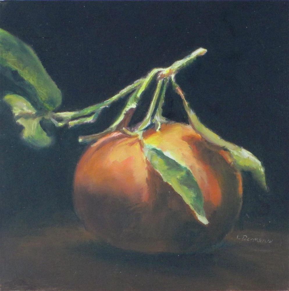 """Mandarin Orange"" original fine art by Linda Demers"