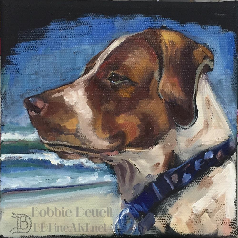 """""""#45 Annie of the Ocean"""" original fine art by Bobbie Deuell"""